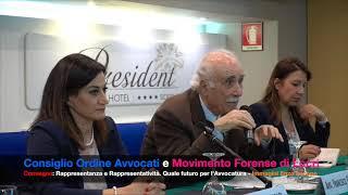 LOCRI convegno: Rappresentanza o Rappresentatività quale futuro per l'Avvocatura? (by EL)