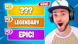 Fortnite's MYTHIC items... (RARER than LEGENDARY)