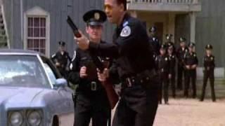 Tackleberry g0es wild! (Police Academy)