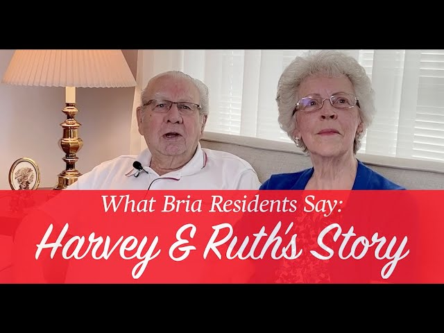 What Bria Residents Say: Harvey & Ruth's Story