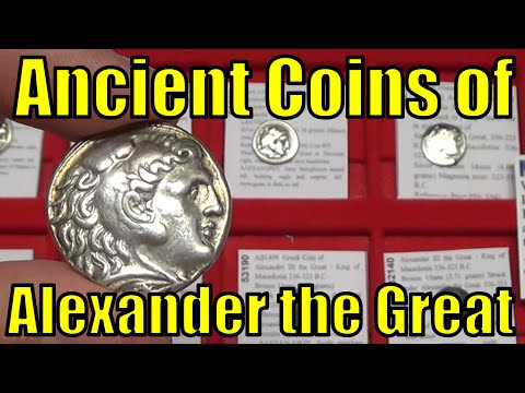 ALEXANDER III the GREAT Ancient Greek Coins COLLECTING GUIDE to Types in Gold Silver & Bronze