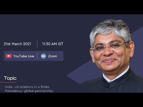 Guest Lecture Series 2021   Mr. Arun Kumar Singh