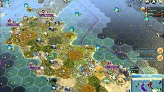Civ 5 Walkthrough - Rome Part 7 (Victory!) Science Victory