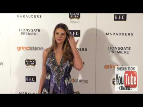 Zita Vass at the Lionsgate Premiere Of Marauders at TLC Chinese 6 Theatre in Hollywood