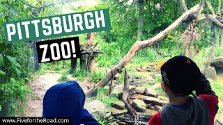 Visiting the Pittsburgh Zoo | Family Travel Vlog | Pittsburgh, Pennsylvania