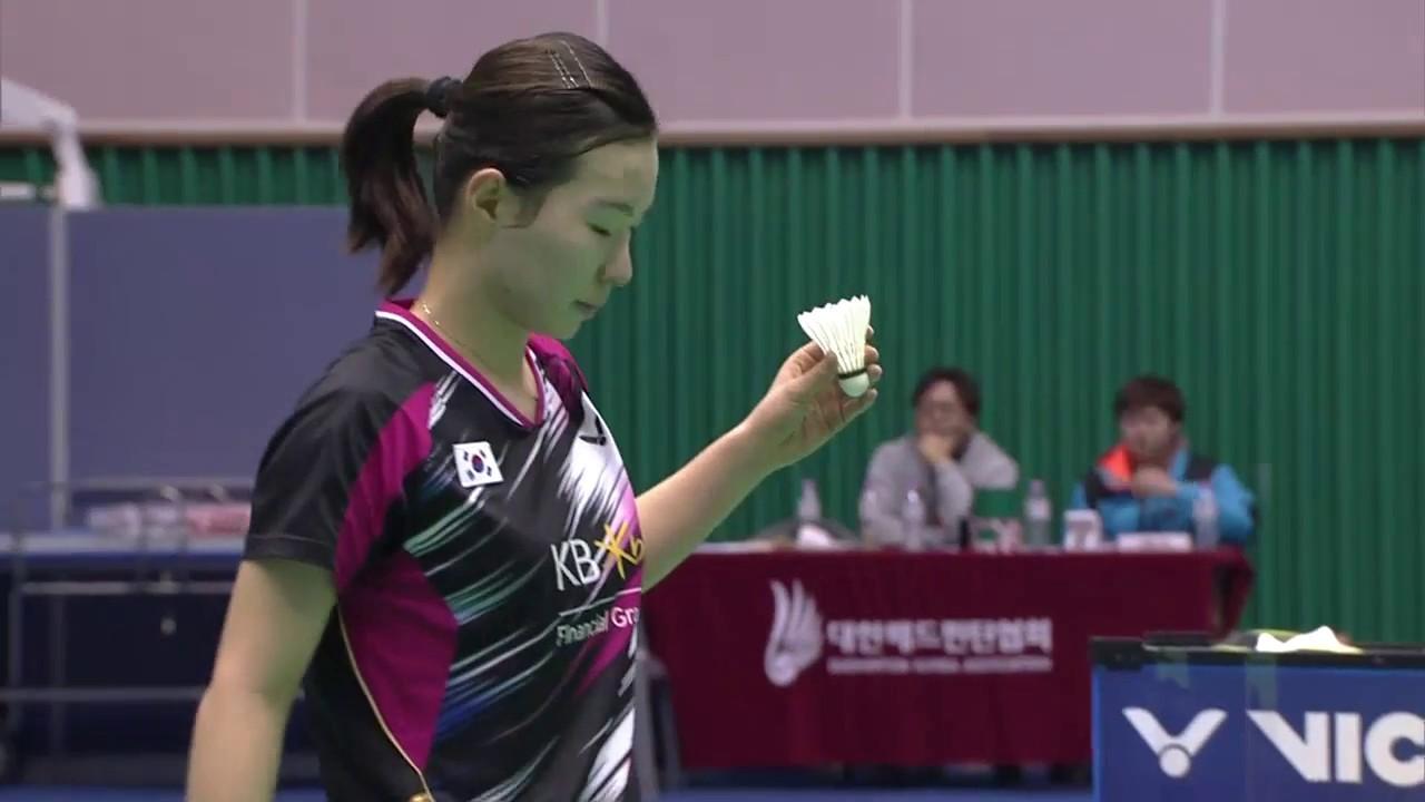 Jeju Victor Korea Masters 2016 Badminton F M4 WS