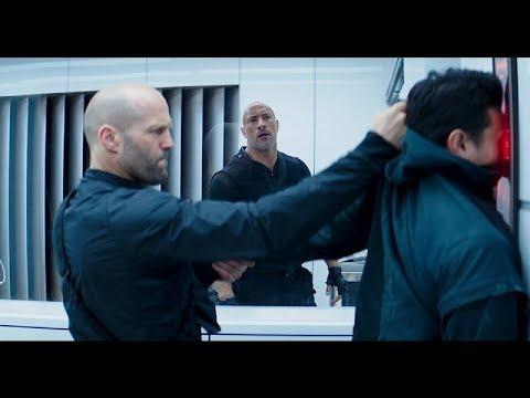 Хоббс и Шоу спорят кто лучше \ Форсаж: Хоббс и Шоу Fast & Furious Presents: Hobbs & Shaw