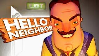 БЫСТРОЕ ПРОХОЖДЕНИЕ ВЫХОДА НЕТ  Hello Neighbor 4
