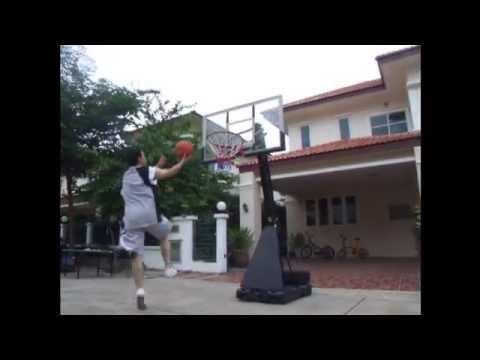 รีวิวการปรับแป้นบาส SD-2000 มาตรฐาน NBA (ฺBasktetball Stand)