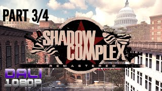 Shadow Complex Remastered Part 3/4 PC Gameplay 60fps 1080p