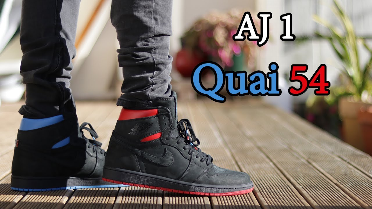 new styles 25387 35dbe Air Jordan 1 'Quai 54' Close Up and On-Feet w/ Different Pants
