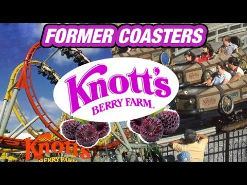 The Former Coasters of Knott's Berry Farm