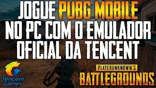 SAIU O EMULADOR OFICIAL DA TENCENT PARA JOGAR PUBG MOBILE NO PC / BAIXE JÁ