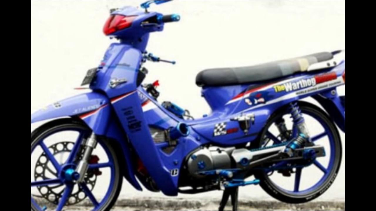 Cah Gagah Video Modifikasi Motor Honda Kirana 125 Ceper Keren