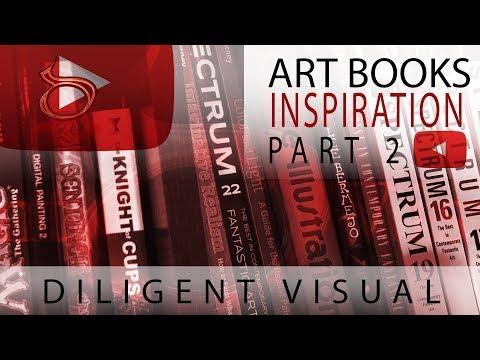 Art Book Review Part 2 (Inspiration)