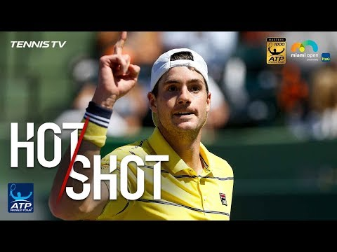 Hot Shot: Isner Saves Break Point In Dramatic Fashion In Miami Final