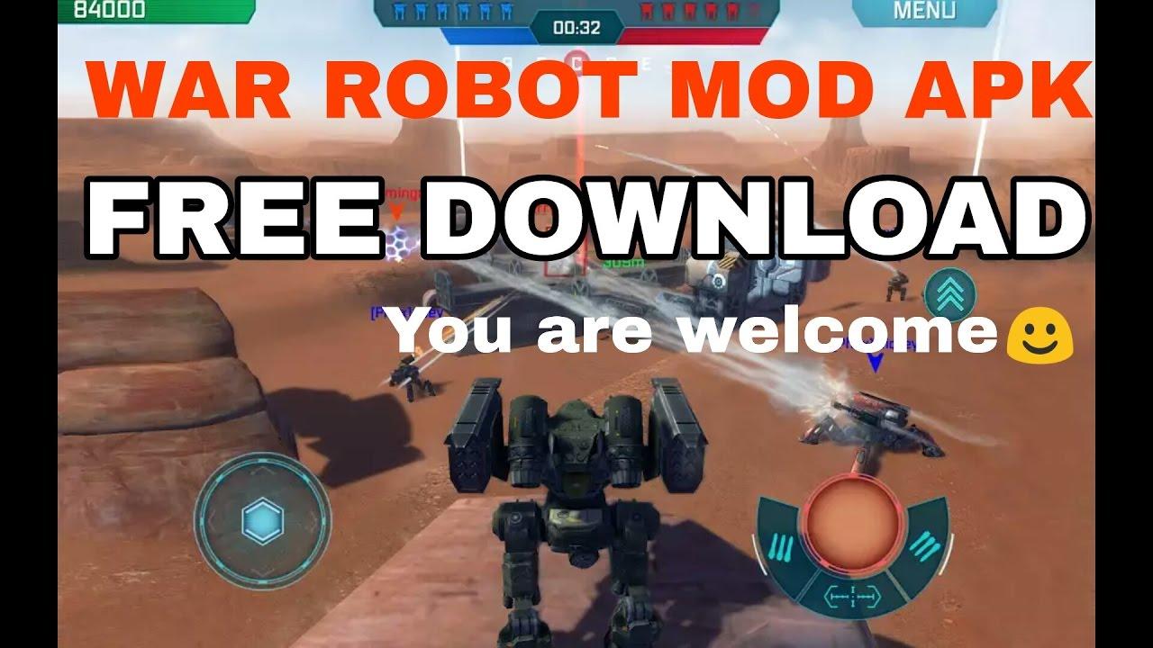 download war robot mod apk versi terbaru