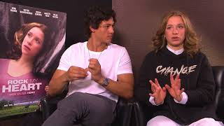 Emilio Sakraya & Lena Klenke Interview ROCK MY HEART - Freunde - Filmset und Backstage