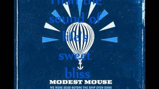 Modest Mouse-Missed the Boat Lyrics