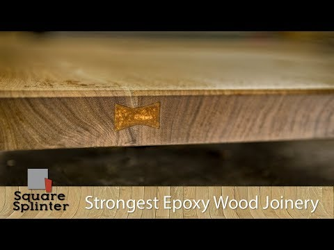 New Type of Wood Joinery - Is it the Strongest? | Epoxy Dovetails Experiment