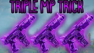 TRIPLE MP TRICK!   Nur Maschinenpistole Challenge   Fortnite Battle Royale