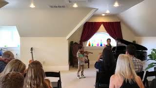 Harumu Karato Violin Performance