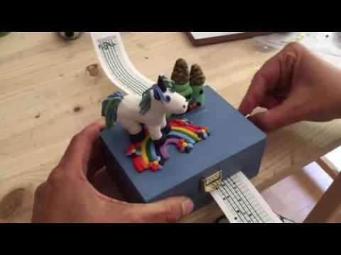 """Everglow"" - Coldplay Custom Made Music Box"
