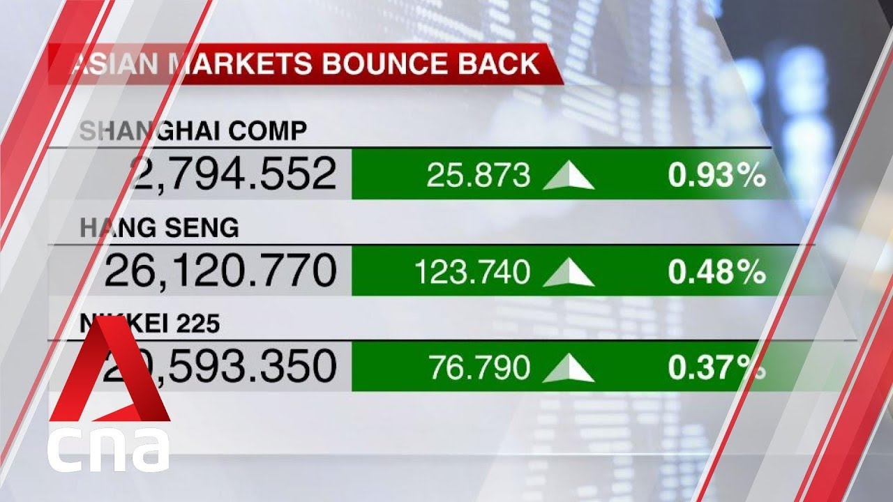 Asian markets bounce back amid better-than-expected Chinese export data