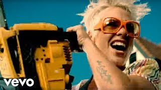P!nk - So What (Official Music Video) thumbnail