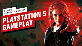 Control on PS5: 12 Minutes of Performance Mode and Graphics Mode Gameplay