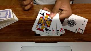 Four Jack Burgualrs Card Trick