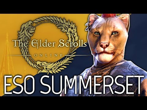 ESO: Summerset DLC - New Chapter For ESO! (Elder Scrolls Online | 1080p | PC)