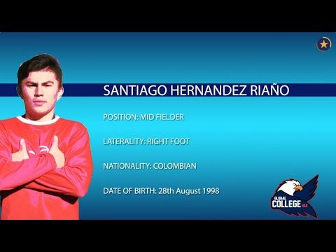 Santiago Hernandez COMMITTED - College Soccer Recruiting Video Fall 2018