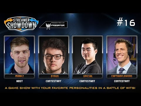 Streamer Showdown LoL Edition Sponsored by Predator (feat.  Dyrus, Xpecial, & CaptainFlowers)