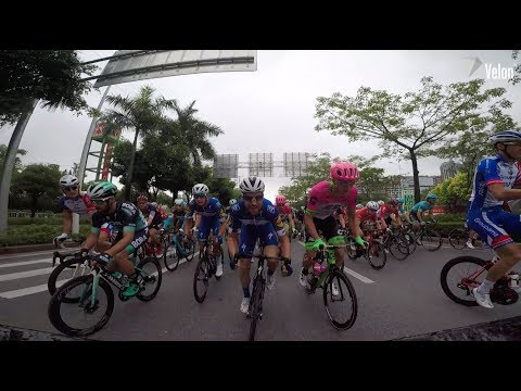 Tour of Guangxi 2018: Stage 4 on-bike highlights