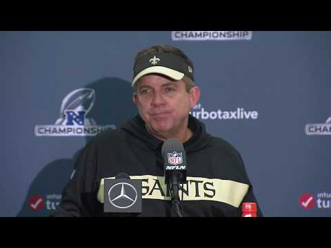 "Sean Payton's Presser After NFC Championship ""They Blew the Call"" Mp3"