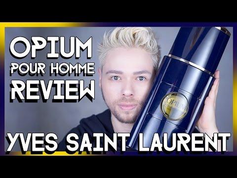 Yves Saint Laurent OPIUM POUR HOMME eau de parfum REVIEW