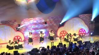 滋賀県守山市民ホールで行われたAKB48チーム8公演夜ver. 濱咲友菜センタ...