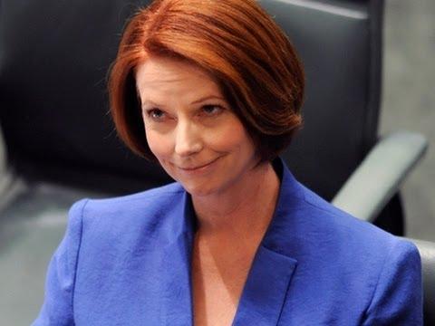Australia's PM Slams 'Misogynist' Opposition Leader (Gillard Vs Abbott)