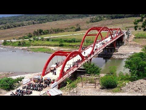 Vlogs wisata baru jembatan merah(karangmoncol purbalingga)