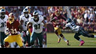 Matt Jones & Rob Kelley vs Eagles (NFL Week 6 - 2016) - Beastin'! | NFL Highlights HD