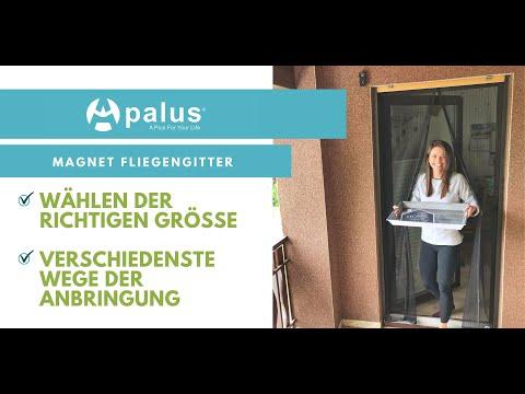 Apalus Magnet Fliegengitter Tür | Neues Installations Video 2020 | Amazon Bestseller