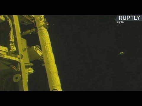 La expedición 53-54 llega a la Estación Espacial Internacional