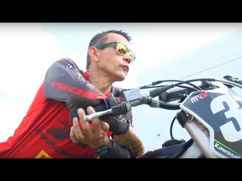 В Губкине состоялись соревнования на Кубок личного открытого Первенства по мотокроссу