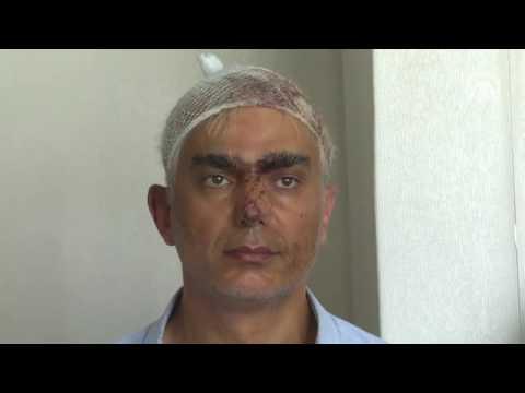 Darbeci komutanların emniyetteki görüntüleri (Anadolu Ajansı videosu)