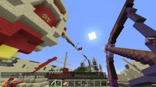 Играем в Minecraft Castle Wars|МЫ ПОБЕДИЛИ!