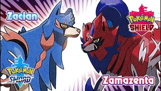 Pokemon Sword & Shield - Illusions Zacian & Zamazenta Battle Music (HQ)