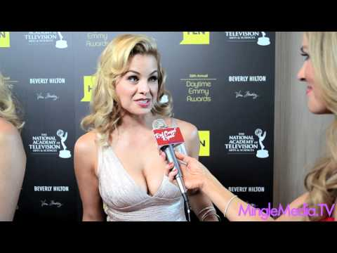 Jessica Collins at The 39th Annual Daytime Emmy Awards