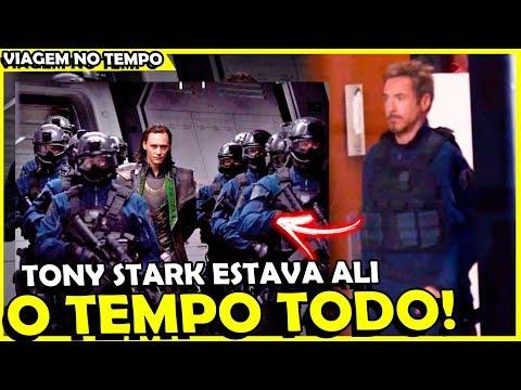 HOMEM DE FERRO VOLTA NO TEMPO E MUDA A HISTORIA DO LOKI EM VINGADORES 4