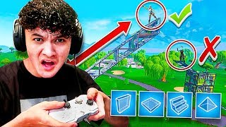 My Little Brother PLAYS BUILDER PRO FOR FIRST TIME & WON! (KID RAGE ON FORTNITE)